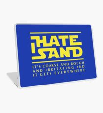 For sand haters (yellow) Laptop Skin