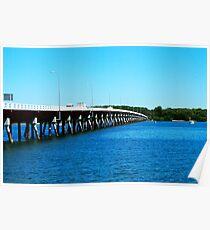 Bribie Bridge Poster