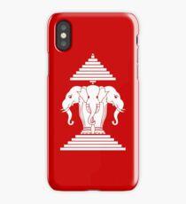 Erawan Lao / Laos Three Headed Elephant iPhone Case/Skin