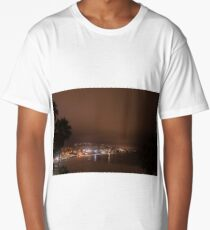 Beautiful Laguna beach at night Long T-Shirt
