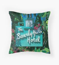 Beverly Hills  Throw Pillow