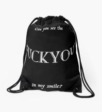 Can you see the fuck you Drawstring Bag