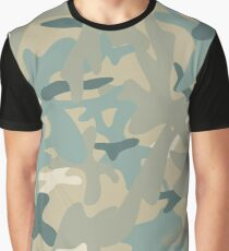 Camouflage military background. Seamless pattern. Graphic T-Shirt