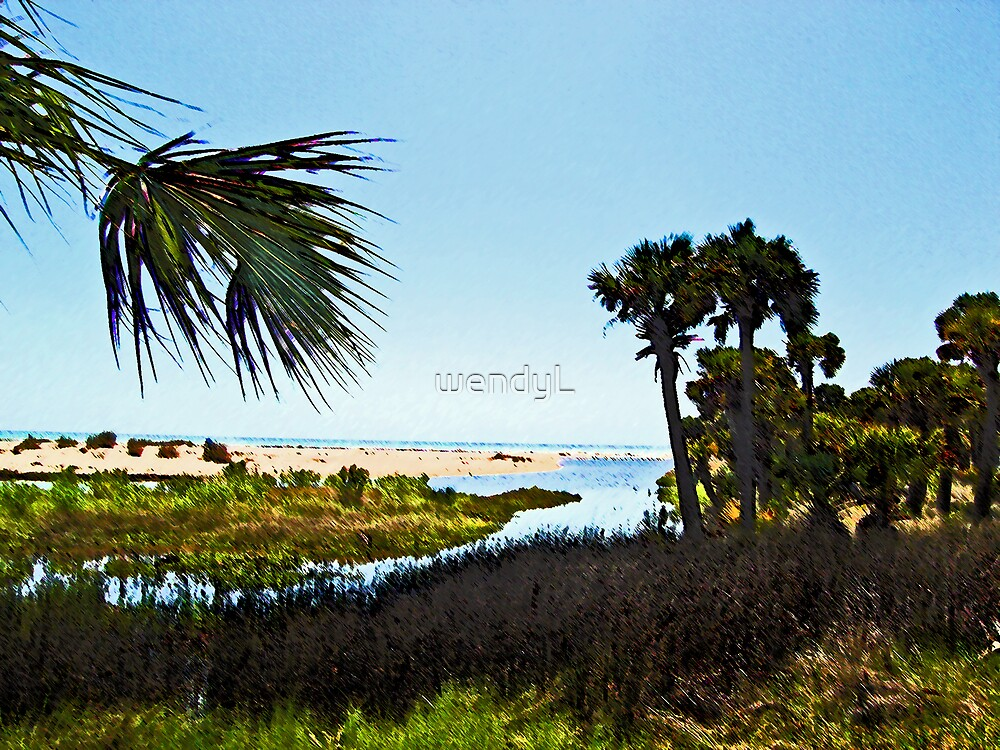 """The Mouth of """"Money Bayou"""" by wendyL"""