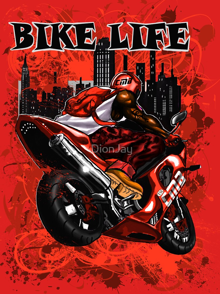 BIKE LIFE(PHAT BACK) RED by DionJay