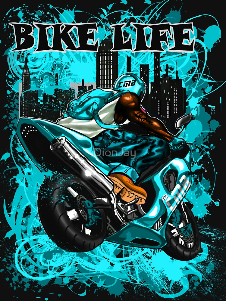 BIKE LIFE(PHAT BACK) TURQUOISE by DionJay