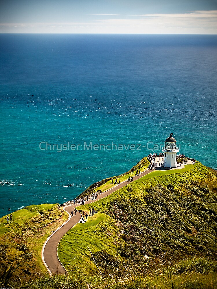 Cape Reinga Lighthouse by Chrysler Menchavez-Carlow