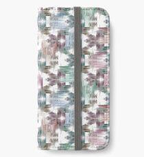 Brush strokes iPhone Wallet/Case/Skin