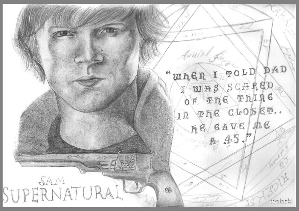 Sam Winchester - Supernatural by teelecki
