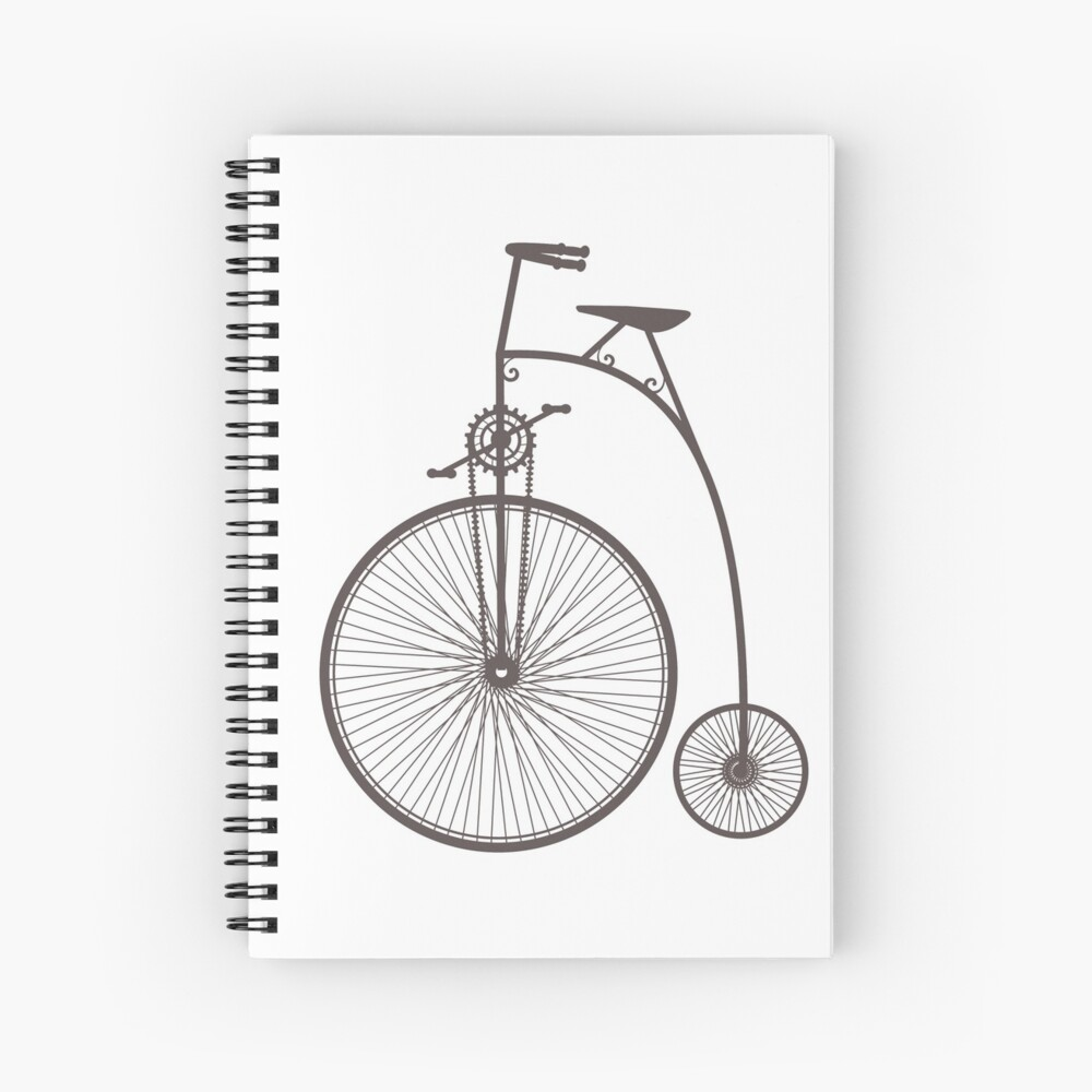 Retro vintage Spiral Notebook