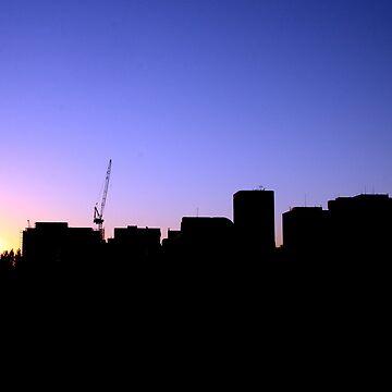 Adelaide Skyline by studiobj