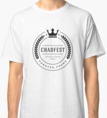 The Chadfest Classic - Black print Classic T-Shirt