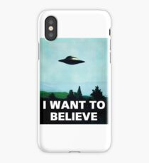 X FILES iPhone Case/Skin