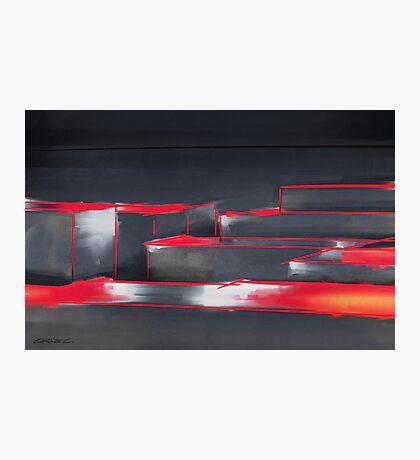 Red Maze Photographic Print