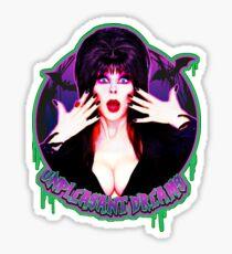 Mistress of the dark Sticker