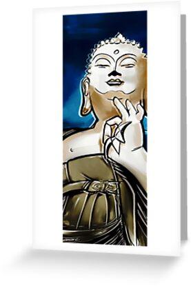 Buddha by Charlize Cape