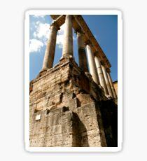Temple of Saturn Sticker