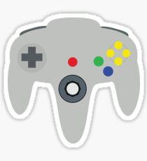 N64 Controller Sticker
