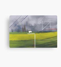 Geometrical Landscape I Canvas Print