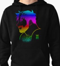 ADAM LIKES RAINBOWS - GAY PRIDE Pullover Hoodie
