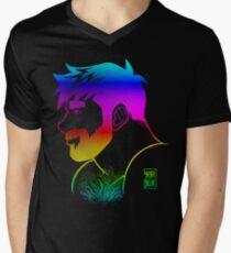 ADAM LIKES RAINBOWS - GAY PRIDE Men's V-Neck T-Shirt