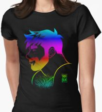 ADAM LIKES RAINBOWS - GAY PRIDE Women's Fitted T-Shirt