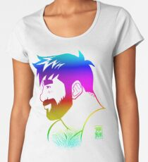 ADAM LIKES RAINBOWS - GAY PRIDE Women's Premium T-Shirt