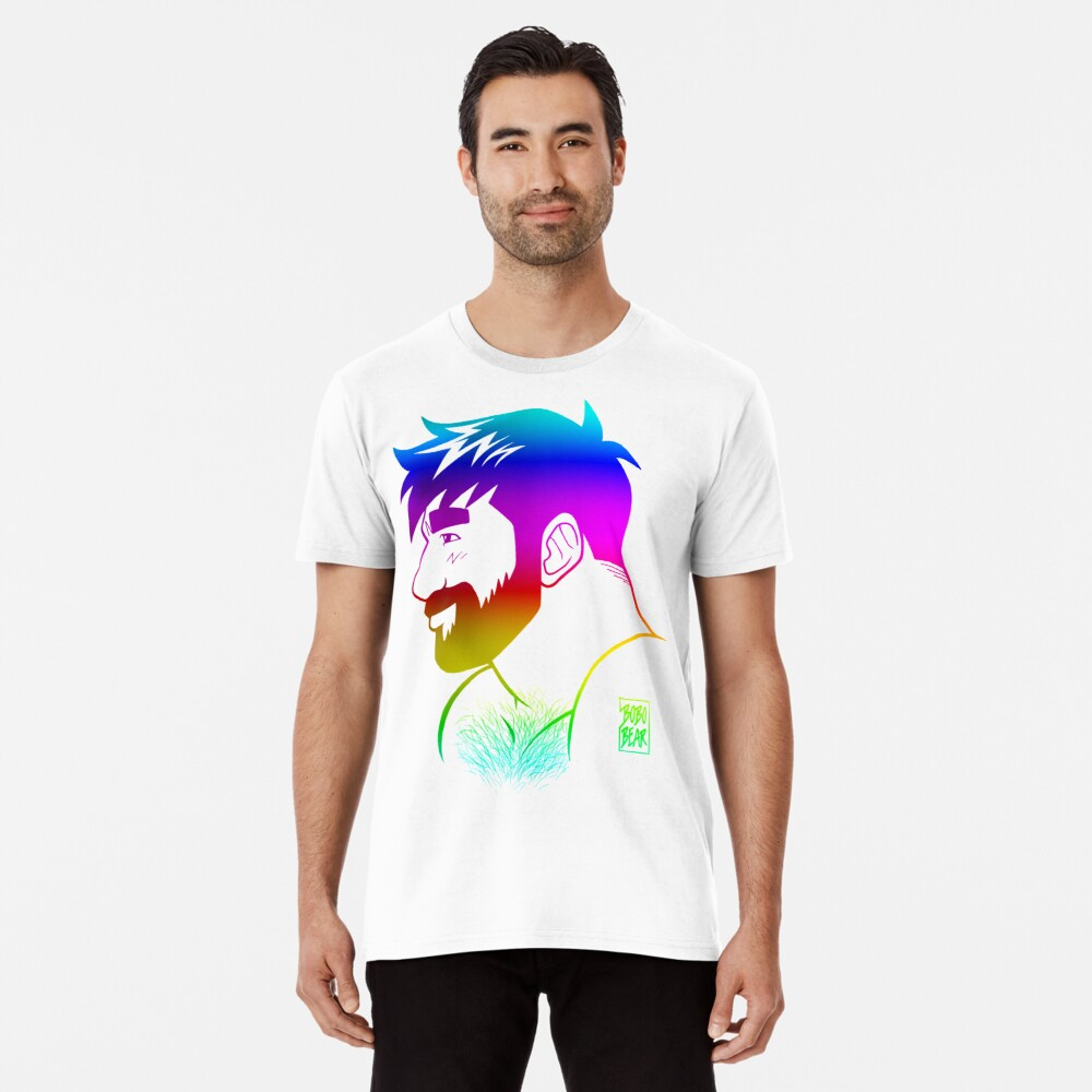 ADAM LIKES RAINBOWS - GAY PRIDE Premium T-Shirt