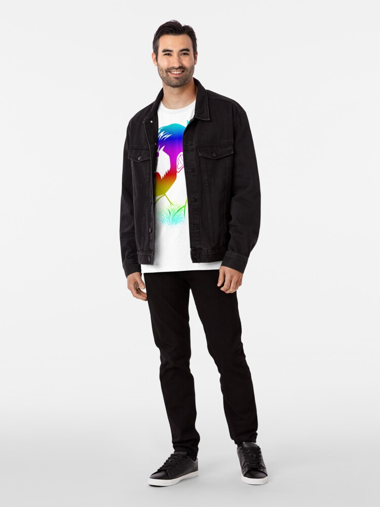 Alternate view of ADAM LIKES RAINBOWS - GAY PRIDE Premium T-Shirt