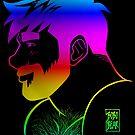 ADAM LIKES RAINBOWS - GAY PRIDE by bobobear