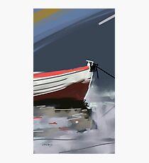 Fishermans boat deconstruction Photographic Print