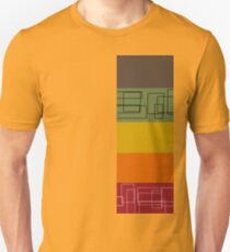 Colorful Stripes Unisex T-Shirt