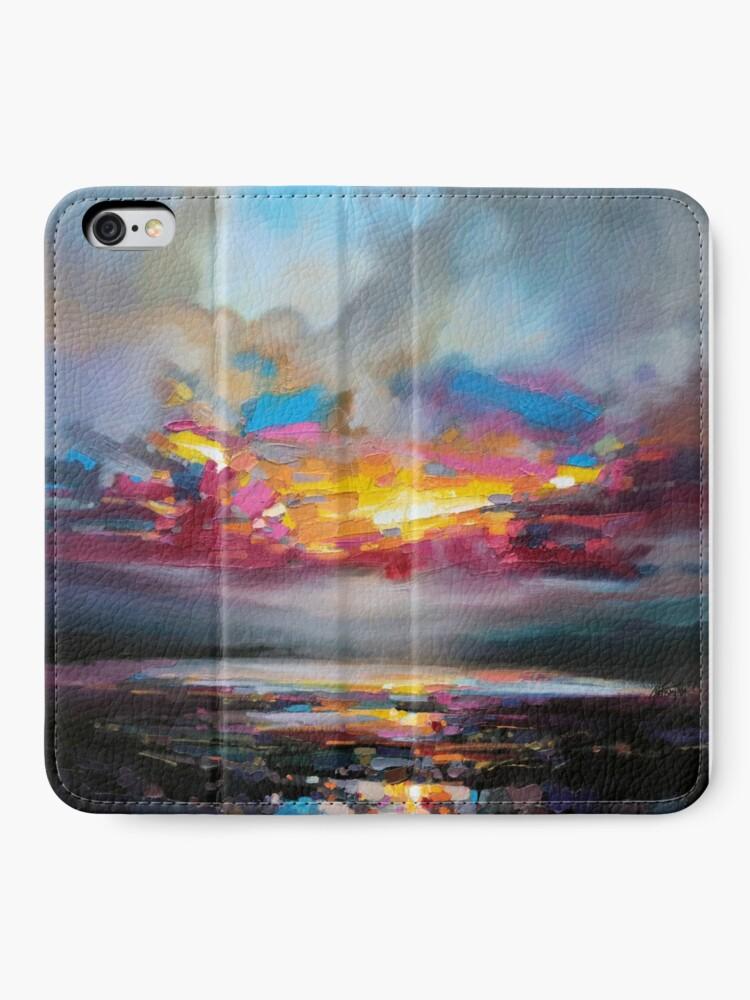 Alternate view of Primary Sky iPhone Wallet