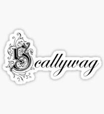 Scallywag Sticker