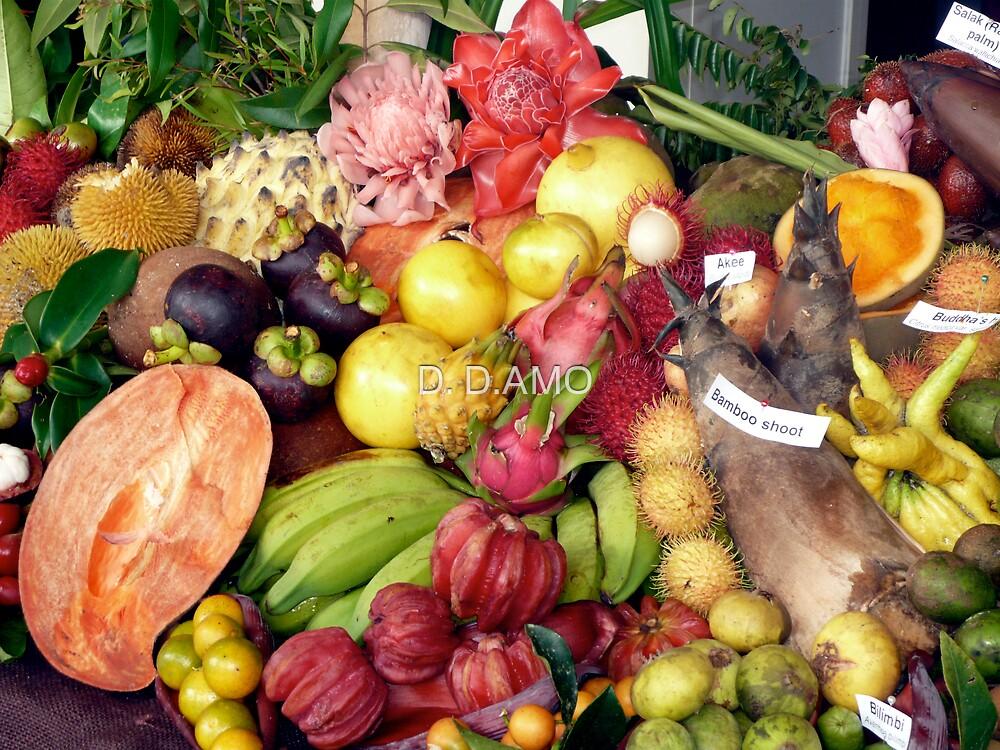 Feast of ( FRUIT &) the Senses 08 by D. D.AMO
