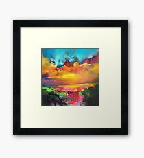 Consonance and Dissonance Framed Print