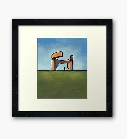 Praise to the horizon Framed Print