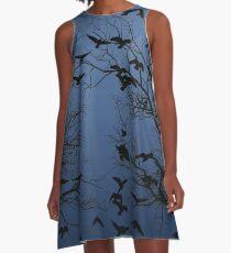 Crow flock  A-Line Dress