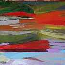 vibrational landscape II by sophia burns