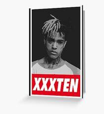 XXXTENTACION Greeting Card