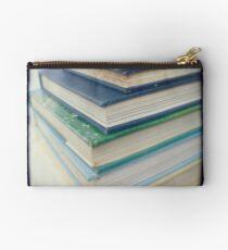 Pile of books - blue Studio Pouch