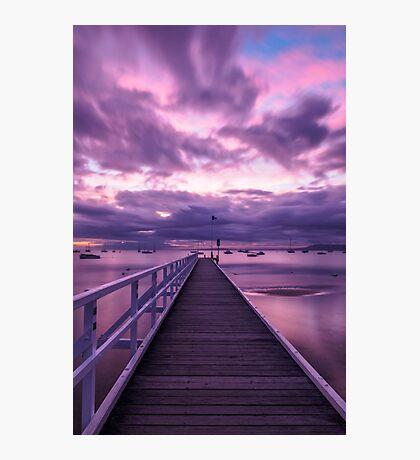 Blairgowrie Pier Photographic Print