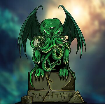 Cthulhu - Lovecraft - Monster by Nocturnalcultur