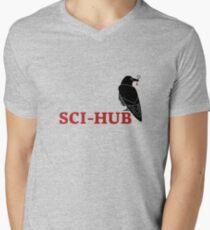 Sci-Hub stuff Men's V-Neck T-Shirt