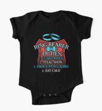 Ring Bearer Duties Kids Clothes