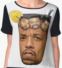 Ice T & Ice Cube Women's Chiffon Top