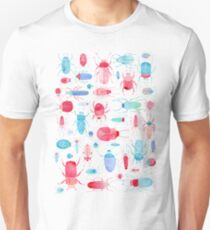 Watercolor Beetles Unisex T-Shirt