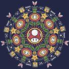 One Up Mandala V2 by Paula García
