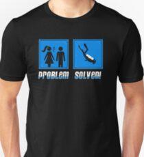 Problem Solved Scuba Diving T-Shirt
