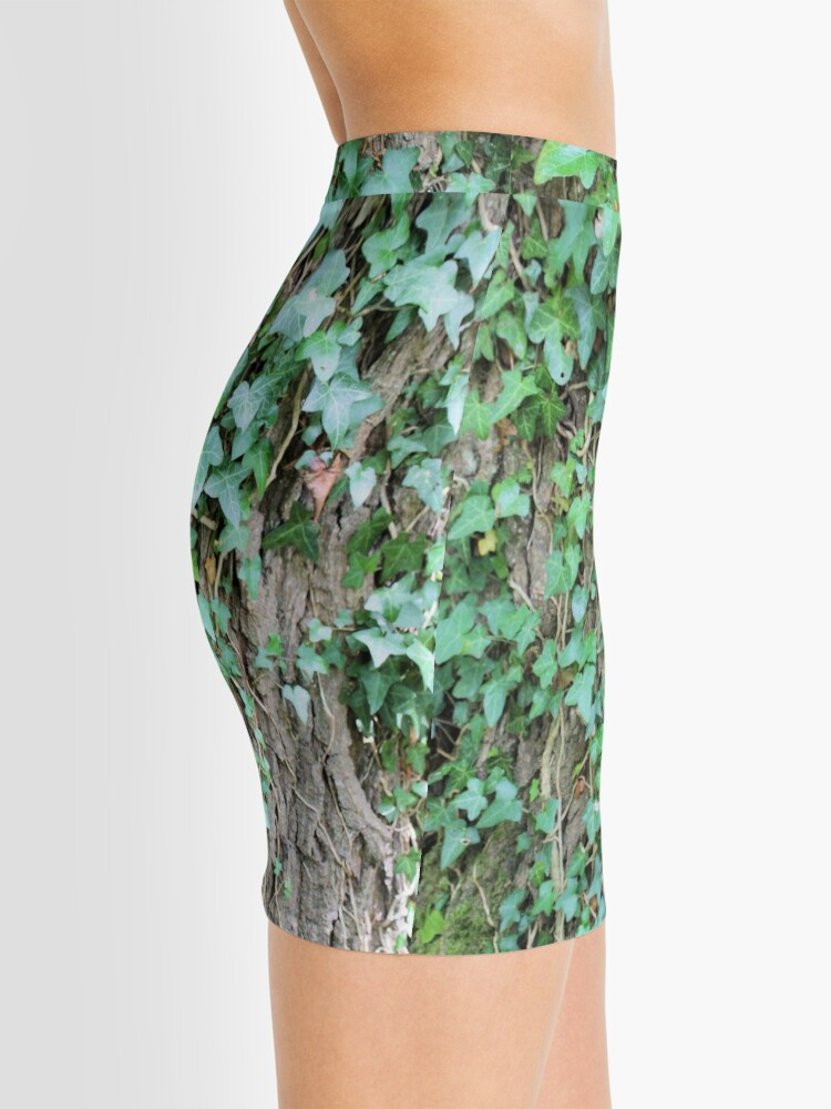Alternate view of Ivy leaves on Oak tree Mini Skirt